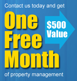 Get one free month of property management